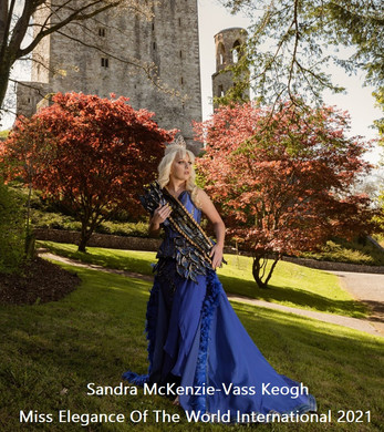 Sandra Mckenzie-Vass Keogh our reigning Miss Elegance Of The World International 2021