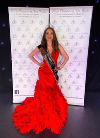 Our reigning Miss Elegance Of The World UK 2021