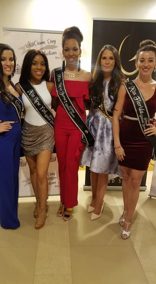 Our Amazing Queen Dani Masterson with all her sister queens at Miss Global United States 2019