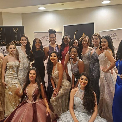 Dani Masterson at the Grand Finals Miss Global United States 2019