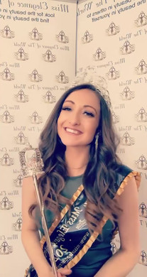 Grace Smithen our new Miss Elegance Of The World UK 2021