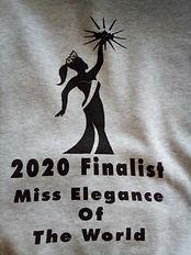Miss Elegance Of The World Finalist Hoodie
