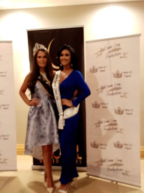Our Amazing Queen with Pamela Lee the reigning Miss Global United States 2018