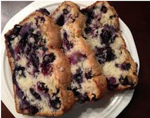 """Paleo Running Momma's"" Banana Blueberry Breakfast Bread (Paleo, Nut, Dairy, Grain, and Oil Free)"