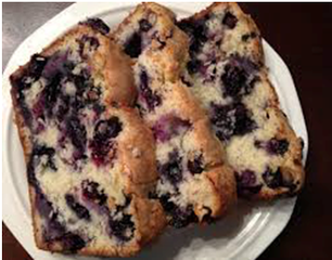 """Paleo Running Momma's"" Banana Blueberry Breakfast Bread (Paleo, Nut, Dairy, Grain, and Oil Free)"