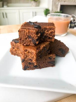 Gluten-Free Earl Grey Brownies