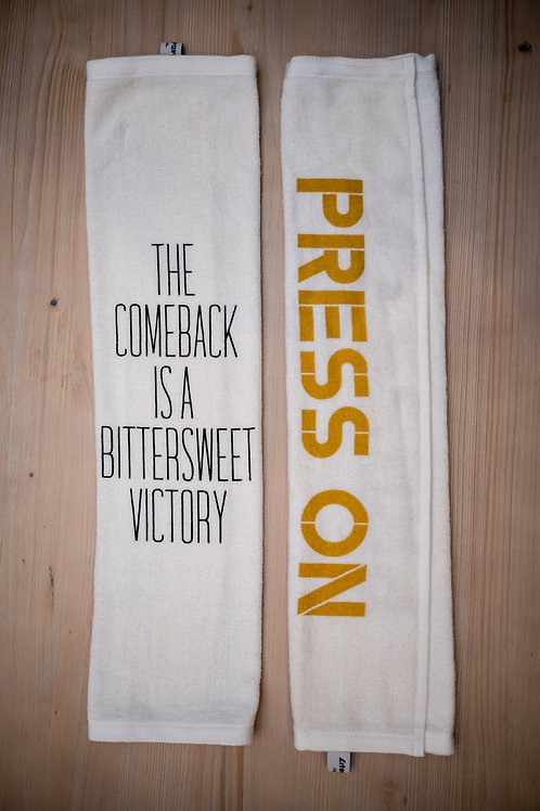 PRESS ON - Fitness Motivation Towel