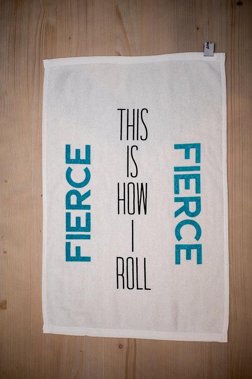 FIERCE - Fitness Motivation Towel
