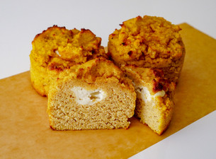 Low Carb, Gluten-Free Pumpkin Muffins