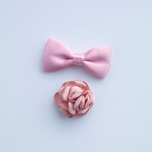 Bowtie / Flower Add-On: Pink