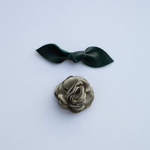 Bowtie / Flower Add-On: Green