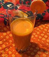 Carrot Cake Juice Blend