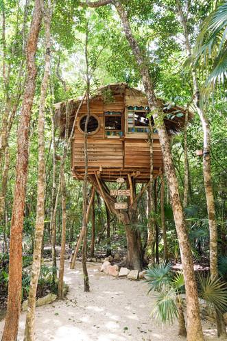 The treehhouse in Tulum
