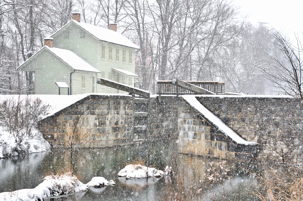 Canal Lockhouse in Williamsport, MD