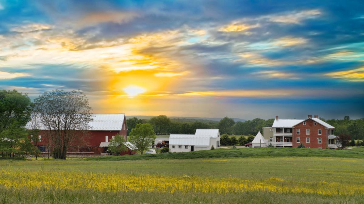 Elmwood Farm Sunset