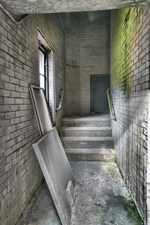 Hallway In the Institution