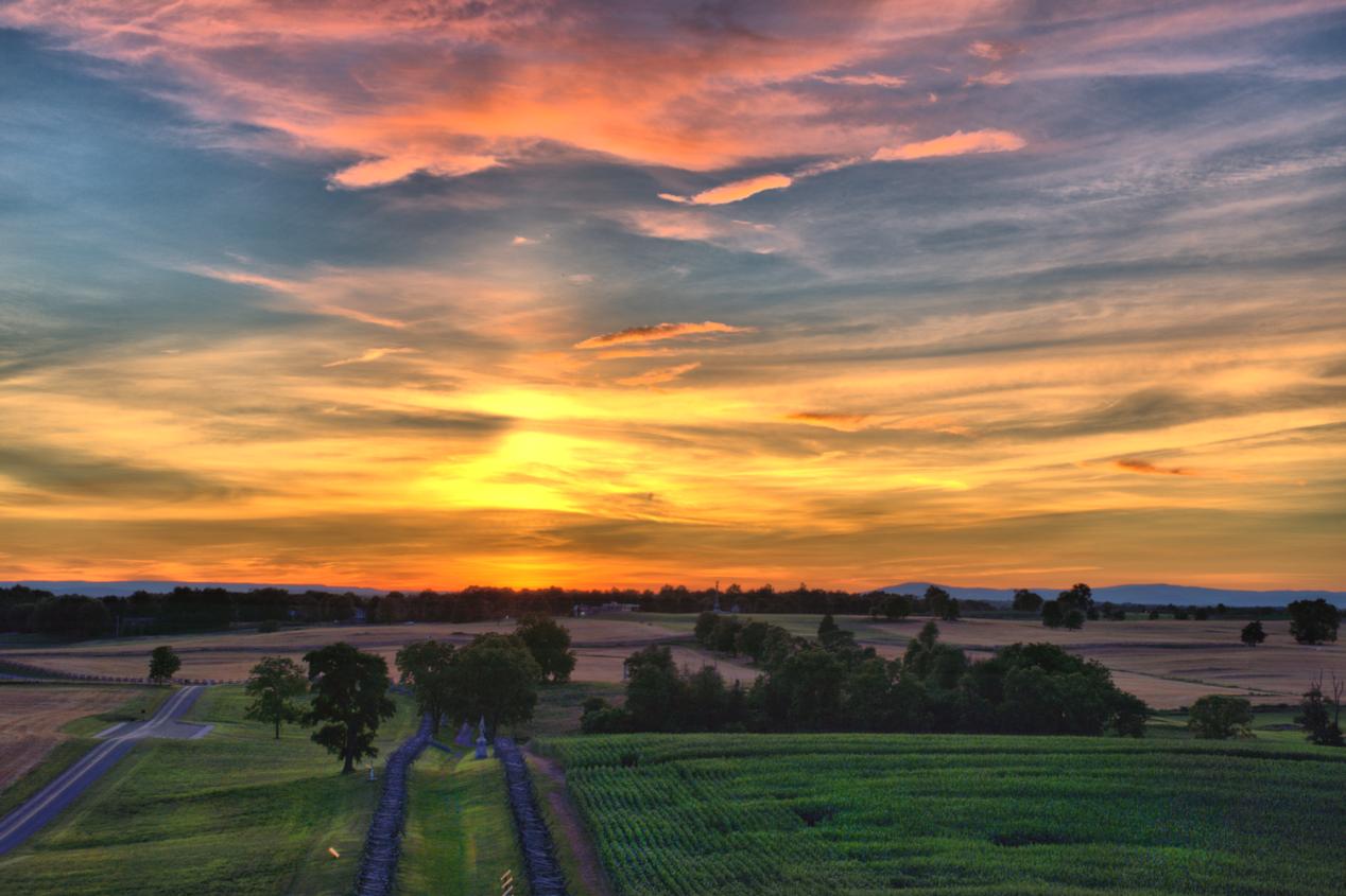 Bloody Lane, Antietam National Battlefie
