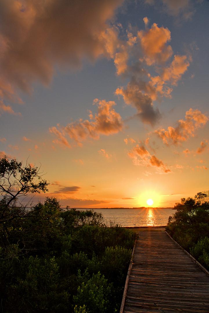 Walkway To The Sun