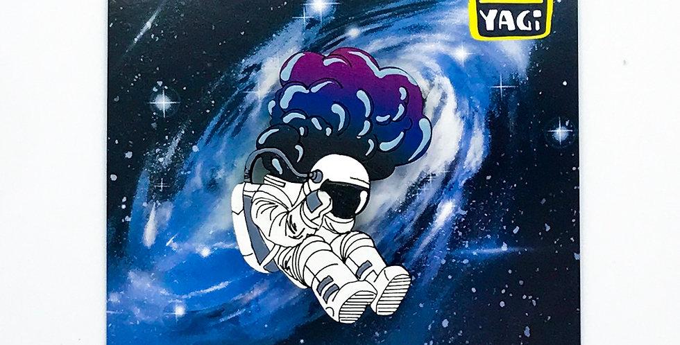 Брошь Запара Космонавта