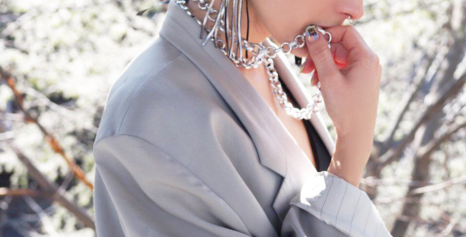 Earrings Horses Silver silver