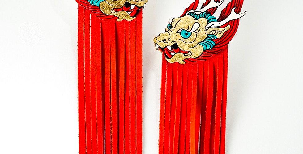 Red-golden Dragons