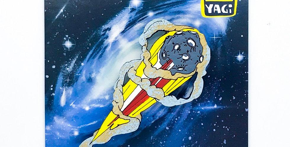 Брошь Астероид