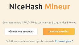nicehash-minage crypto