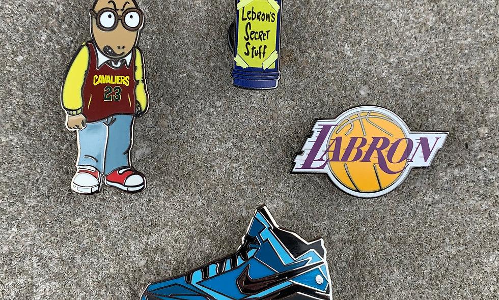 LBJ Pin Pack