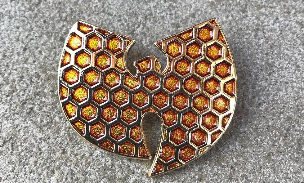 Wu Honeycomb Pin *Preorder