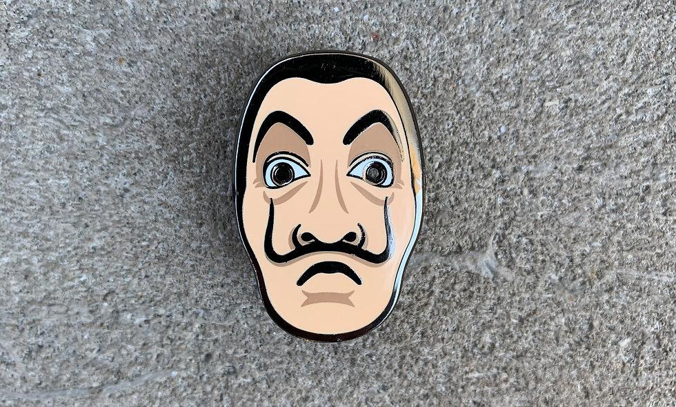 Dali Mask Pin