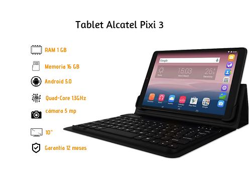 """Tablet Alcatel Pixi 3 10"""" + Teclado Y Estuche"""