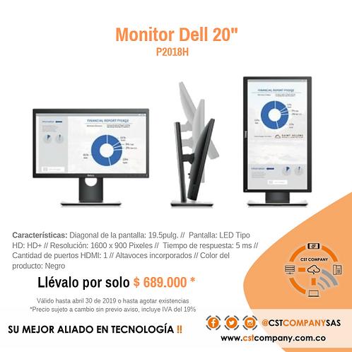 """Monitor Dell 20"""" P2018H"""