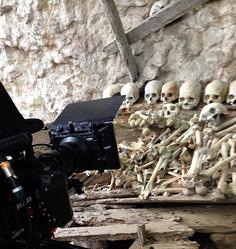 Skulls in Londa, Toraja, Indonesia