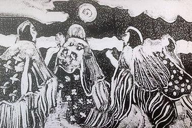shaman women monoprint.jpg