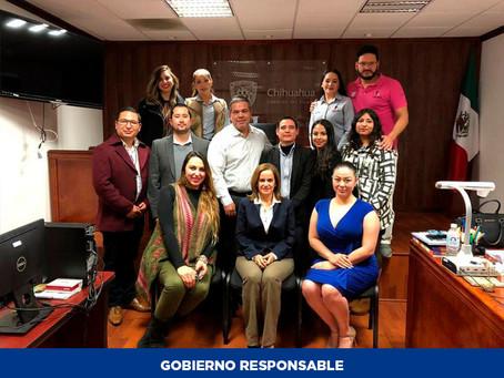 Junta Local de Conciliación y Arbitraje de Cuauhtémoc presenta informe anual