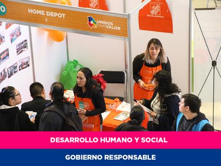 Ofertan más de 500 vacantes en Macro Feria de Empleo Juárez