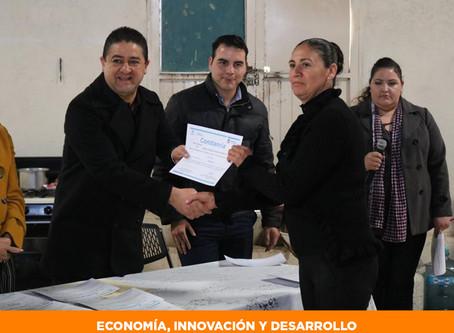 Invierte Gobierno del Estado más de 69 mil pesos para autoempleo en Cuauhtémoc