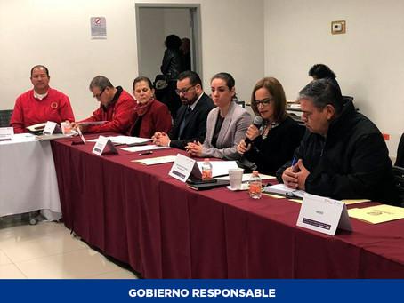 Primera sesión ordinaria de la mesa de trabajo para los derechos humanos de las mujeres en Juárez