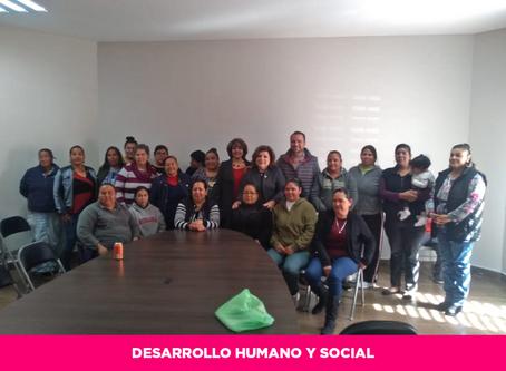 Estado capacita a 25 mujeres de la región de Matamoros