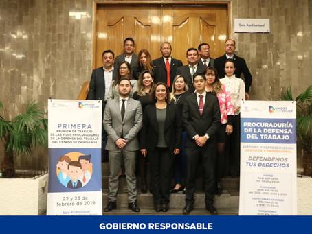 Se reúnen procuradores del Trabajo para mejorar la justicia laboral a favor de los chihuahuenses