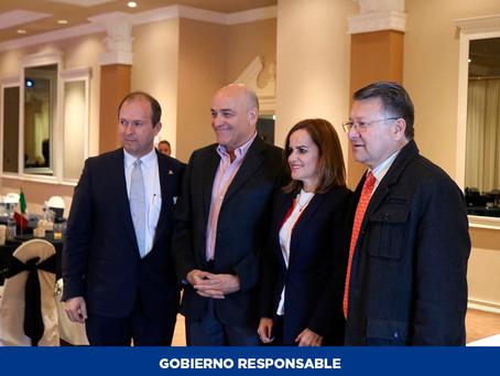 Participa la Secretaría del Trabajo y Previsión Social en sesión de Coparmex