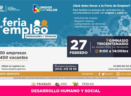 Realizarán mañana Feria de Empleo para Operadores y Técnicos