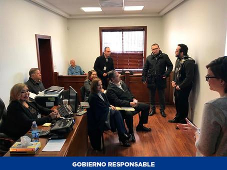 Presenta Junta Local de Conciliación y Arbitraje de Nuevo Casas Grandes informe anual