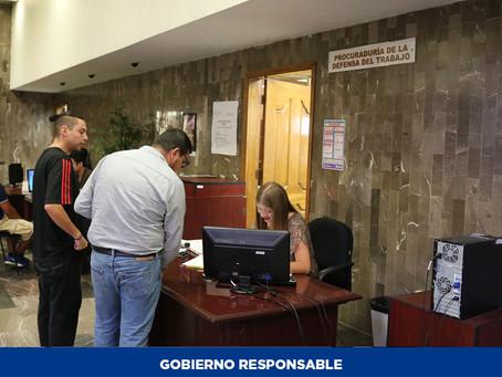 Asesora STPS de manera gratuita para denunciar incumplimiento en pago de aguinaldo
