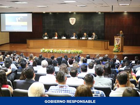 Asisten más de 370 personas a conferencia sobre la Reforma Laboral