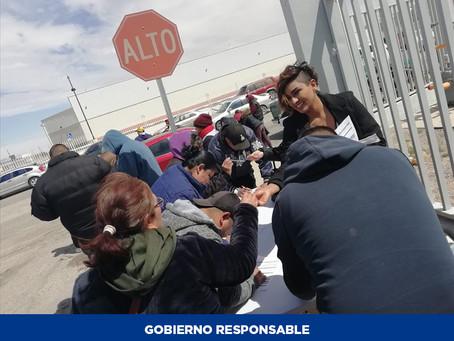 Harán Jornada de Empleo para colocar a trabajadores de NAMS en Juárez