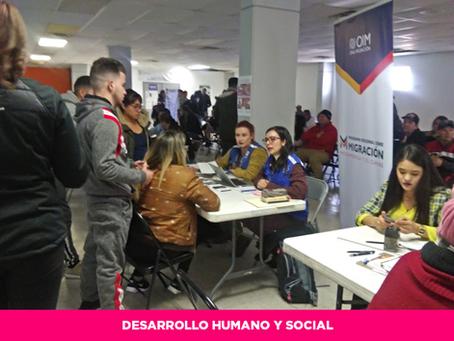 Mediante Jornada Consular, Estado facilita a migrantes su incorporación al mercado laboral