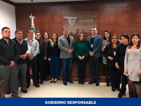 Junta Local de Conciliación y Arbitraje de Hidalgo del Parral presenta informe anual