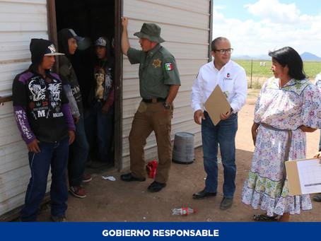 Colaborarán Estado y productores para mejorar condiciones de vida de familias jornaleras en Ojinaga