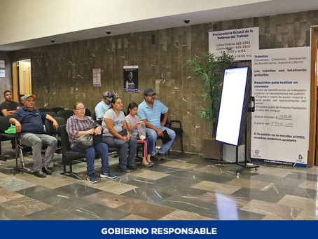 Ofrece Procuraduría de la Defensa del Trabajo asesoría gratuita sobre reparto de utilidades